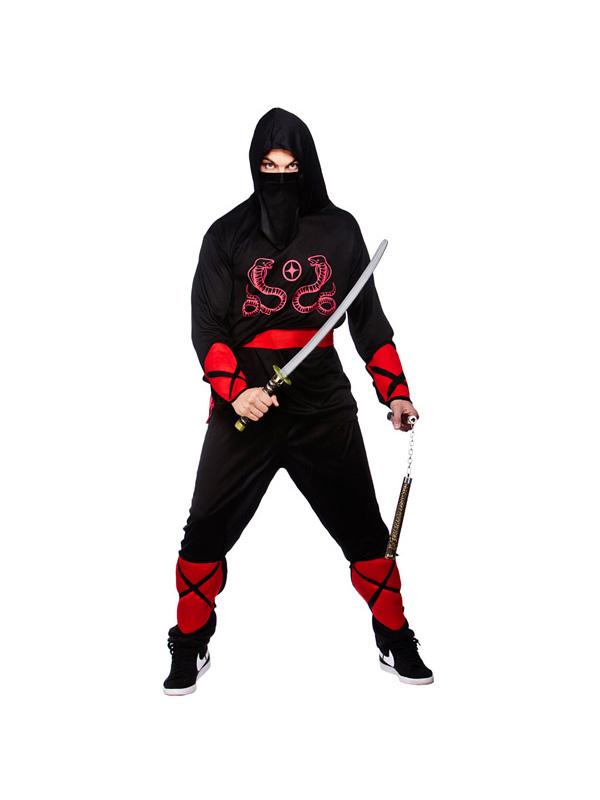 Men's Ninja Warrior Costume
