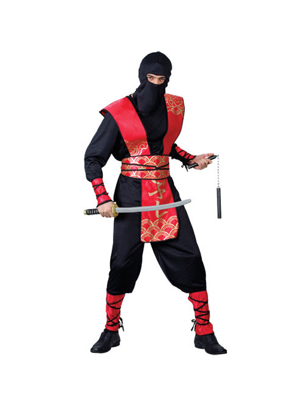 Men's Master Ninja Martial Arts Costume