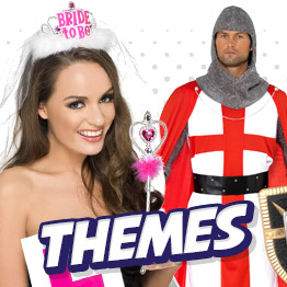 Themed Fancy Dress Costumes from Hen and Stag Dos to World Book Day and Disney