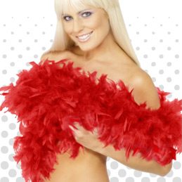 Feather Boas Ideas and Accessories to Complement any Fancy Dress Costume