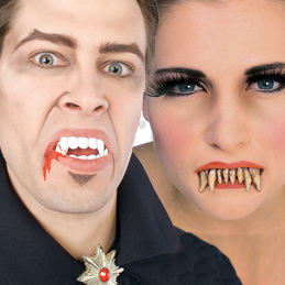 Teeth And Fangs. Fancy dress ideas to add a little bite to your outfit!