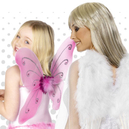 Wings. Complete Any Fairy, Animal And Many Other Looks With our Selection Of Wings