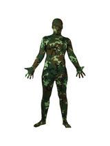 Men's Camouflage One Piece Skinz Costume