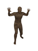 Men's Leopard Skin One Piece Skinz Costume