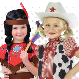 Cowgirls and Indians