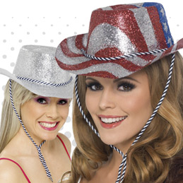 Glittery Hats Ideal To Complete Any Costume Ideal For Hen Nights