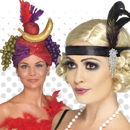 Headwear And Accessories To Complete Any Fancy Dress Looks