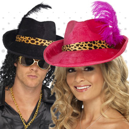 Hats And Headwear Ideas To Complete Any Pimp Costume