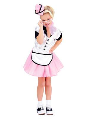 Child Soda Pop Girl Costume Thumbnail 1
