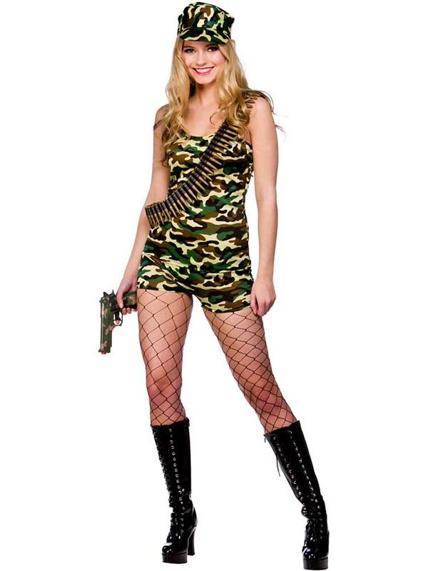 Bootcamp Army Babe Costume