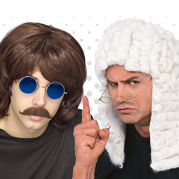 Men's Wig Fancy Dress Ideas And Themes