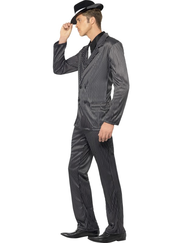 ... Adult Menu0027s Al Capone Costume Thumbnail 2 ...  sc 1 st  Plymouth Fancy Dress! & Adult Menu0027s Al Capone Costume | Plymouth Fancy Dress Costumes and ...