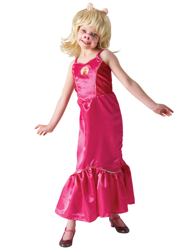 Childs The Muppets Miss Piggy Costume