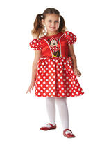 Red Minnie Mouse Classic Costume