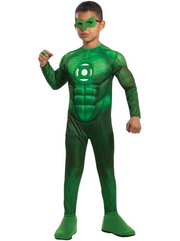 Green Lantern Boy's Deluxe Costume