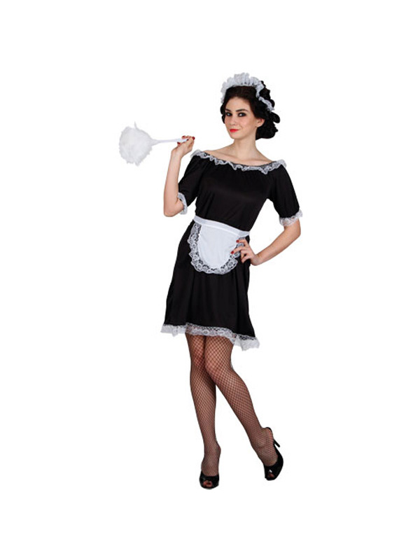 Ladies Classic French Maid Costume