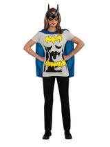 Ladies Batman T-shirt and Cape