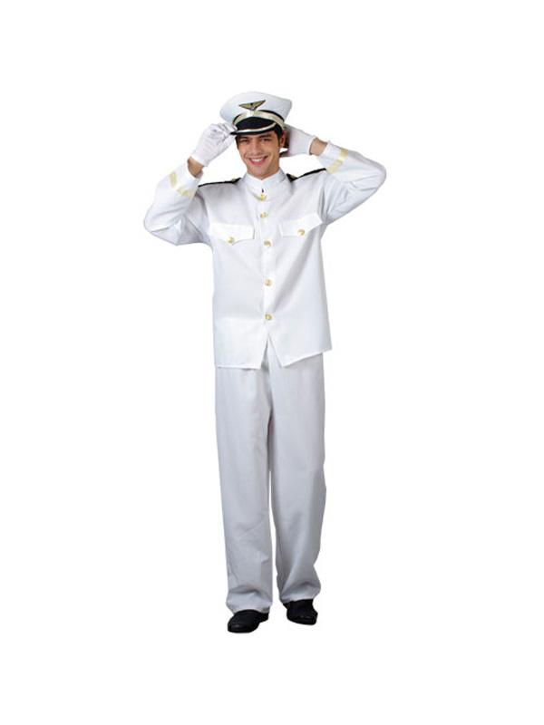 Men's Naval Officer Costume