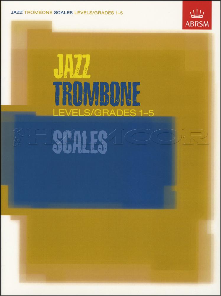 jazz trombone scales grades 1 5 abrsm sheet music book bass clef ebay. Black Bedroom Furniture Sets. Home Design Ideas