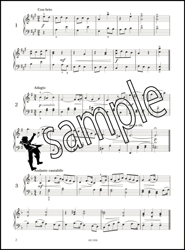 Piano Specimen Sight-Reading Tests for Piano ABRSM Grade 5 | Hamcor