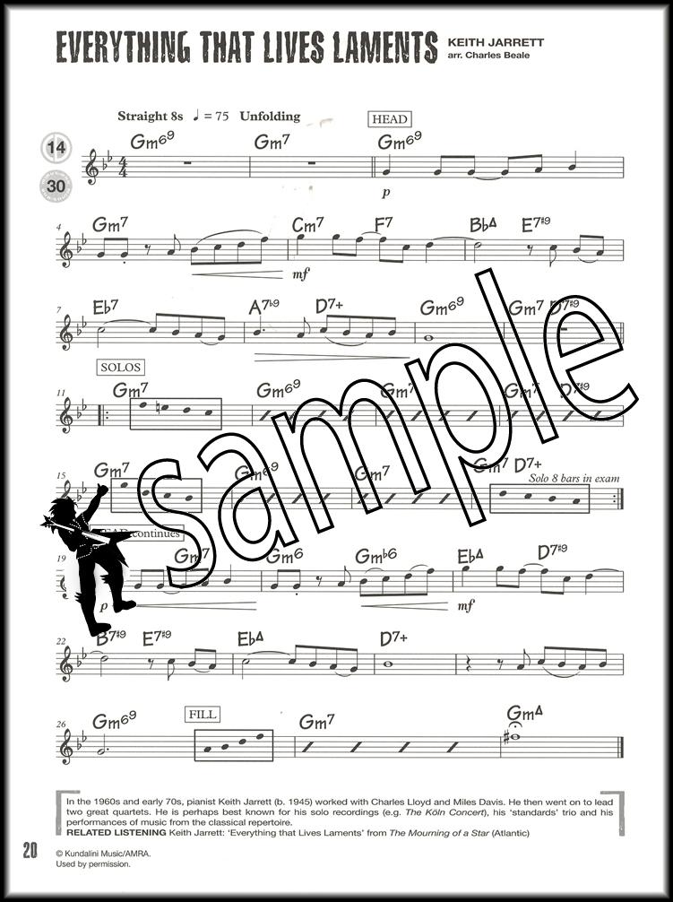 Jazz Alto Sax Saxophone Tunes Grade 1 Sheet Music Book with CD ...