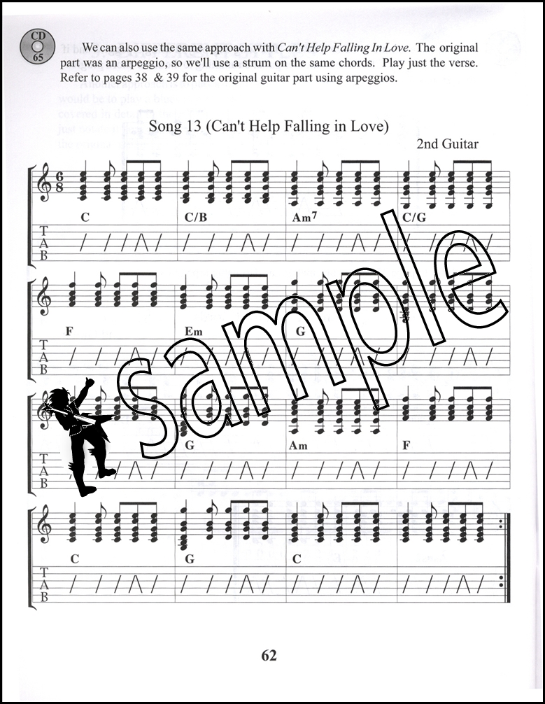 Acoustic Guitar Book 2 Intermediate Tab Music Bookcd Learn How To