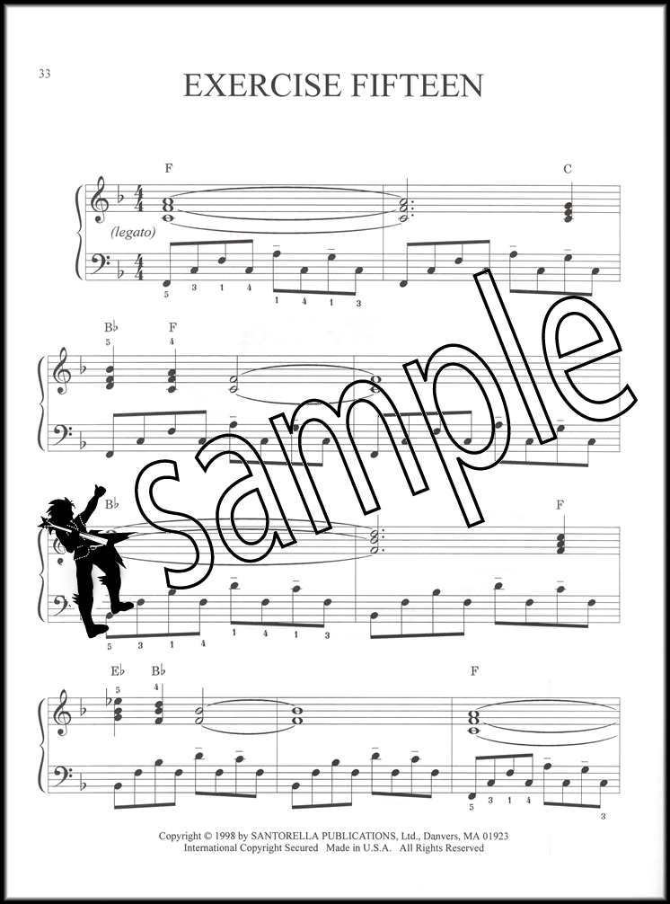 Piano jazz piano sheet music for beginners : Jazz Piano Exercises & Etudes Easy to Intermediate Book/CD | Hamcor