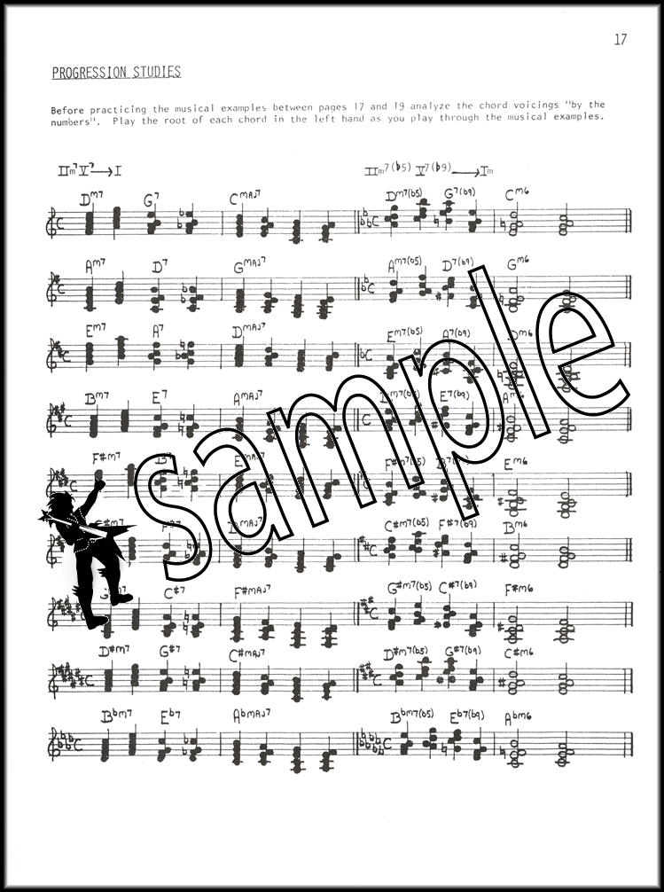 Jazz Piano Chord Voicings For Right Hand Sheet Music Book By Jim