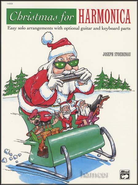 Harmonica harmonica tabs last christmas : Christmas for Harmonica Music Book Easy Solo Arrangements with ...