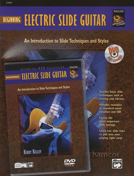 beginning electric slide guitar tab book dvd bottleneck styles techniques ebay. Black Bedroom Furniture Sets. Home Design Ideas