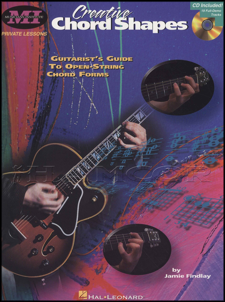 Creative Chord Shapes Tab Music Book With Cd Guide To Open String