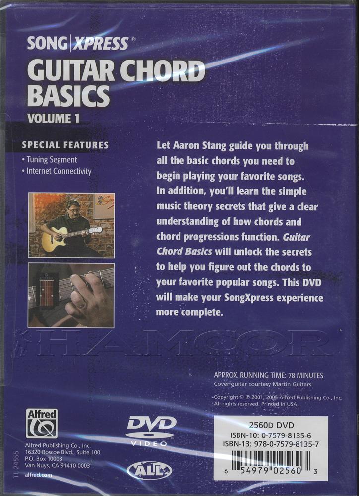 Guitar Chord Basics Volume 1 DVD   Hamcor