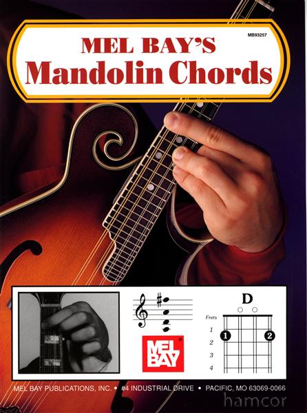 Mandolin playing mandolin chords : Mel Bay's Mandolin Chords Photo Chord Book Learn How to Play ...