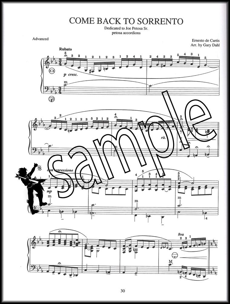 Italian Songs & Arias for Accordion Sheet Music Book by Gary Dahl ...