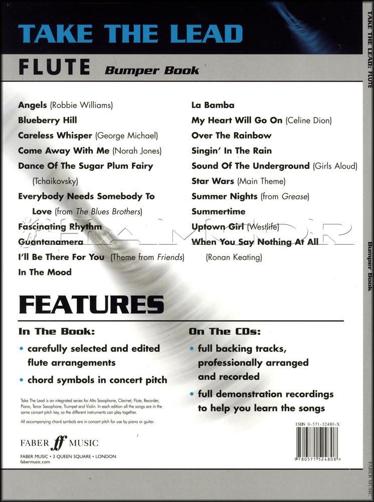 Take The Lead Bumper Book For Flute Bookcds Hamcor