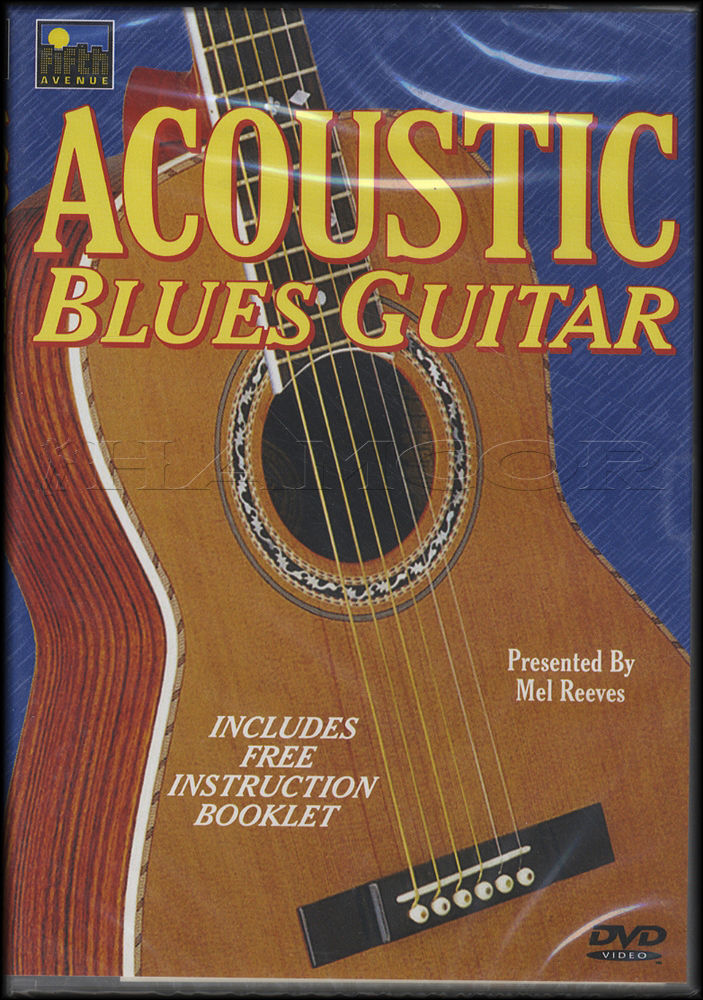Acoustic Blues Guitar Mel Reeves Tuition Dvd Learn How To Play Ebay