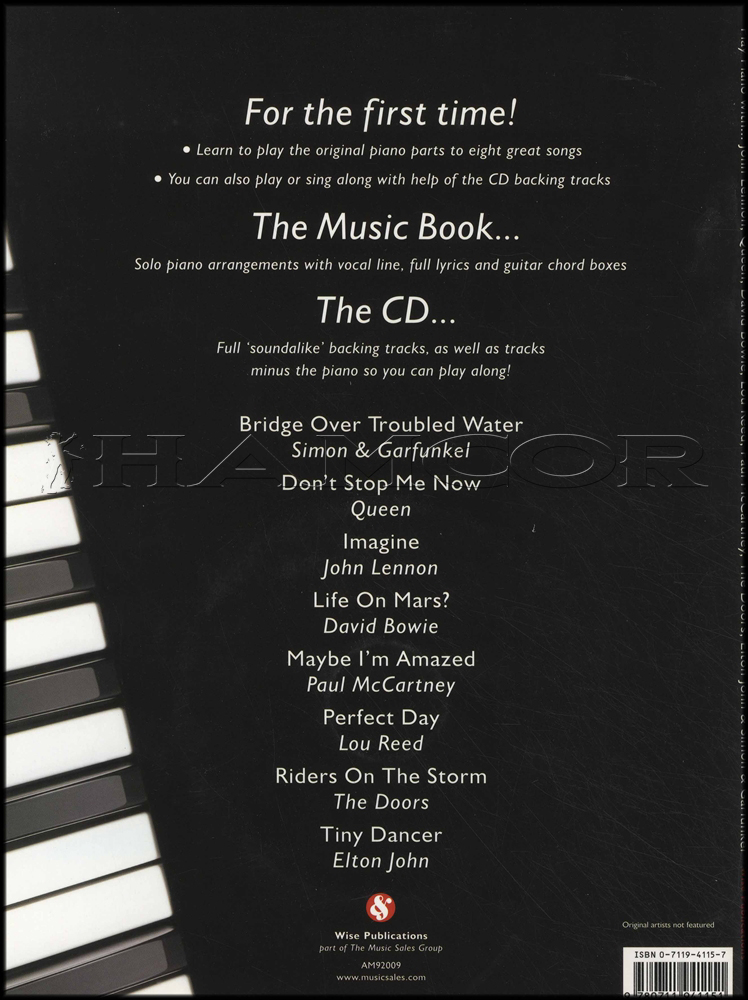 Play Piano With Lennon Queen Bowie Elton Bookcd Hamcor