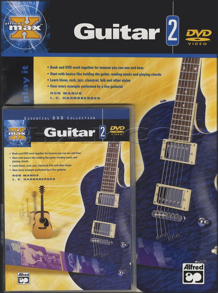 MAX Guitar 2 Book/DVD   Hamcor