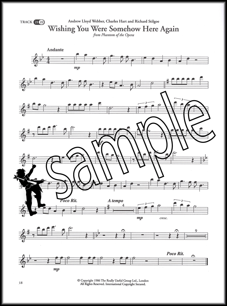 Great Songs from Musicals for Flute Sheet Music Book with CD ...