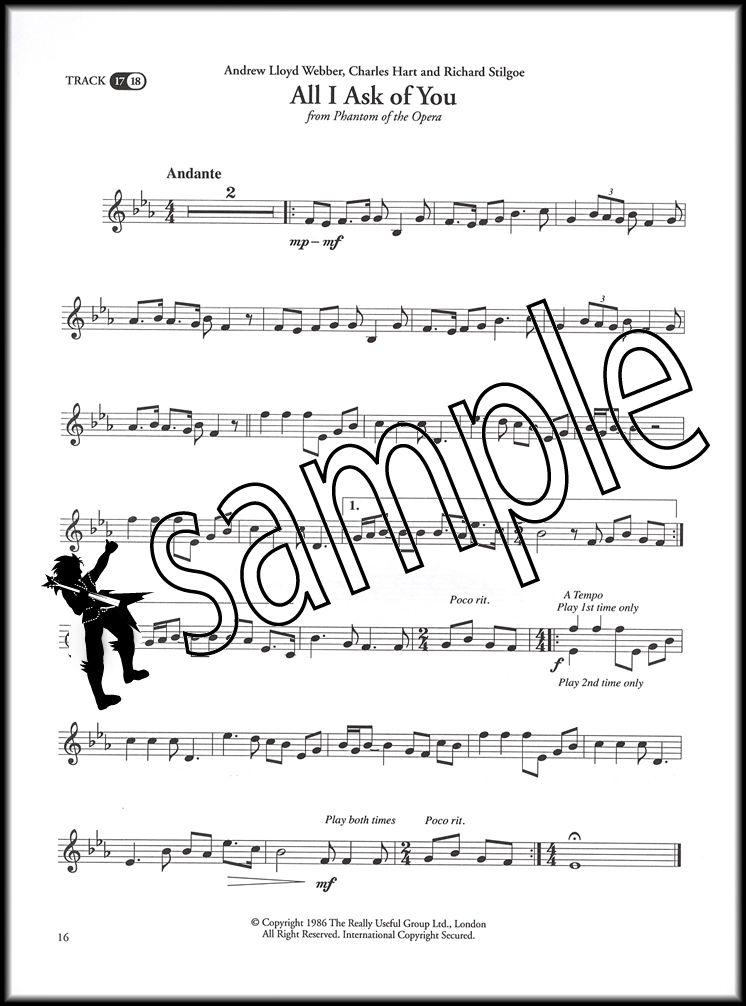 Great Songs from Musicals for Trumpet Sheet Music Book with CD ...