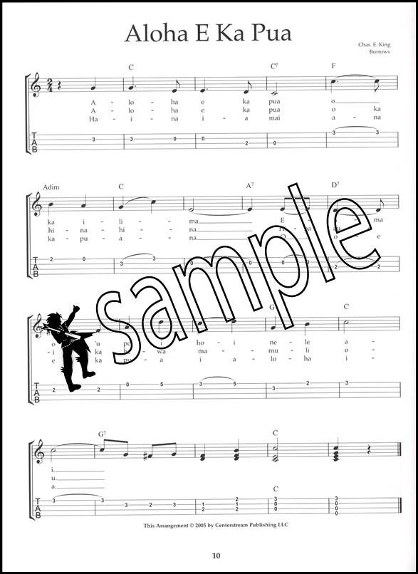 Fun Songs For Ukulele Tab Music Book Chord Melody Songbook
