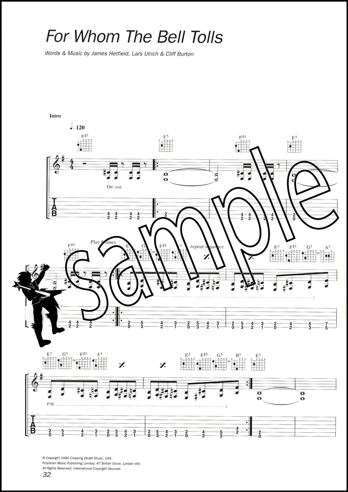 For Whom The Bell Tolls Guitar Chords Choice Image - basic guitar ...