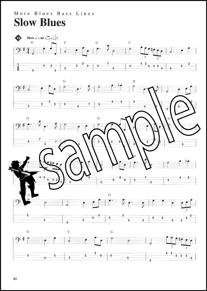 All Music Chords bass sheet music : Jump n Blues Bass Double Bass Sheet Music Book with CD Learn How ...