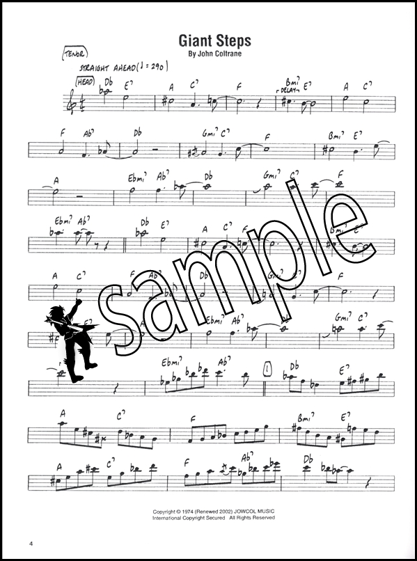 John Coltrane Giant Steps Tenor Sax Hamcor