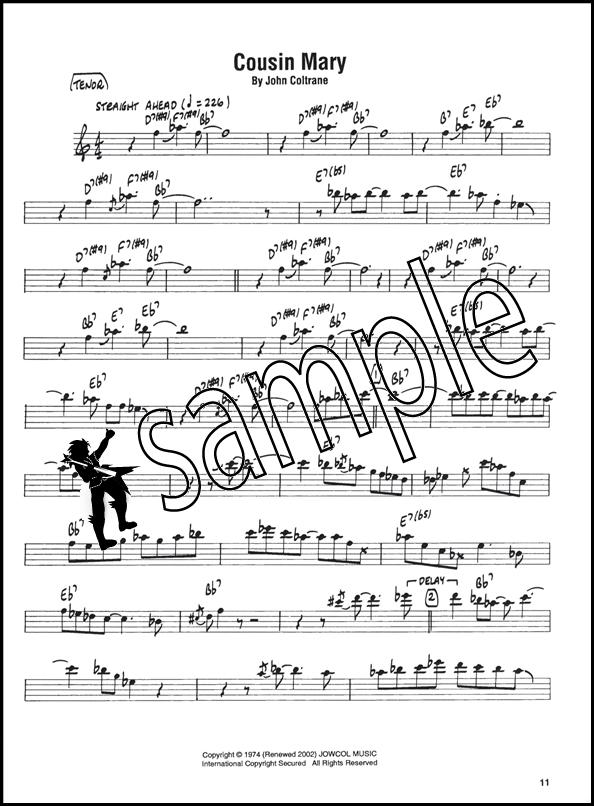 John Coltrane Giant Steps Tenor Sax Artis Transcriptions