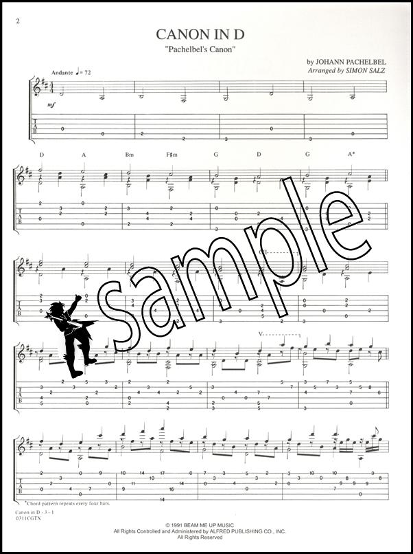 Pachelbel Canon In D Guitar Sheet Music: Sheet Music Canon In D Guitar At Alzheimers-prions.com