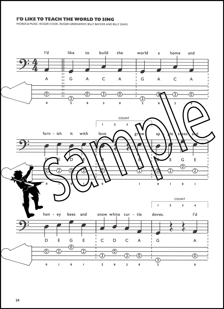 Sentinel Basic Bass Guitar Tab Book By John Richards Beginners Guide To Playing Method