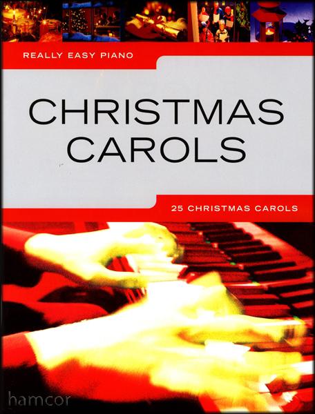 Really Easy Piano Christmas Carols Sheet Music Book Learn to Play 25 Xmas Songs   eBay