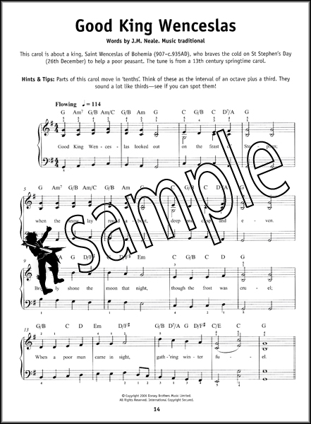 Really Easy Piano Christmas Carols Sheet Music Book Learn to Play ...