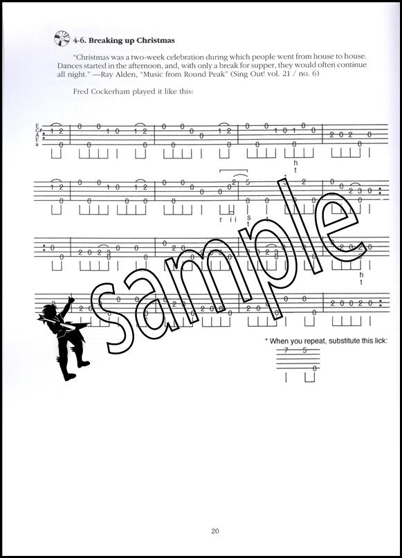 Banjo clawhammer banjo tabs : Round Peak Style Clawhammer Banjo Book/CD   Hamcor
